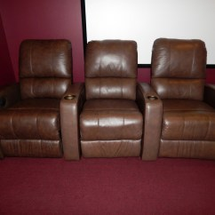 Movie Chairs For Sale Best Fitness Ball Chair Clearance Home Theater Recliner Pacifico 41920 Row Of 3