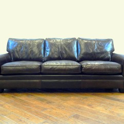 112 Lancaster Leather Sofa Modular Office Uk Lassiter 25 Off American Heritage Custom