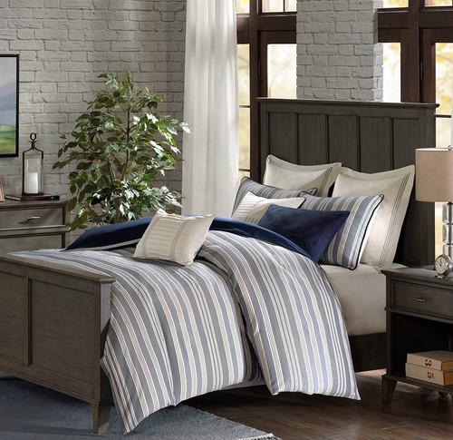 Coastal Farmhouse Comforter King Size 9