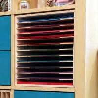 Craft Paper Holder for IKEA | Stamp n Storage