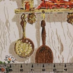 Orange Kitchen Wallpaper Decor Accessories 1970s Vintage Kitsch Rosie 39s