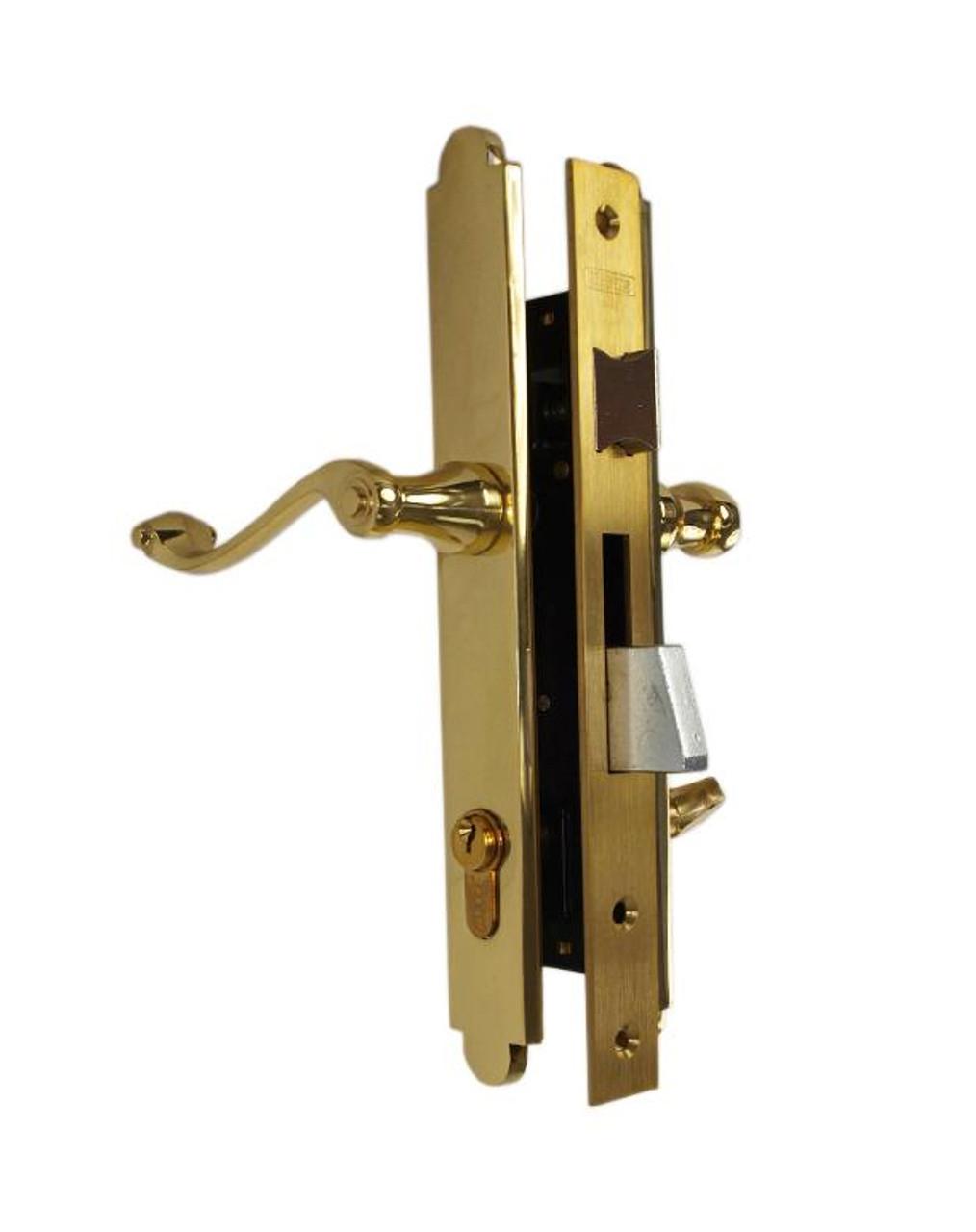 Marks Lock Thinline Mortise Lockset 2750 Series Storm