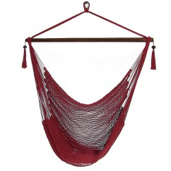 Hanging Chair Big W Round Pub Style Table And Chairs Sunnydaze Caribbean Xl Hammock