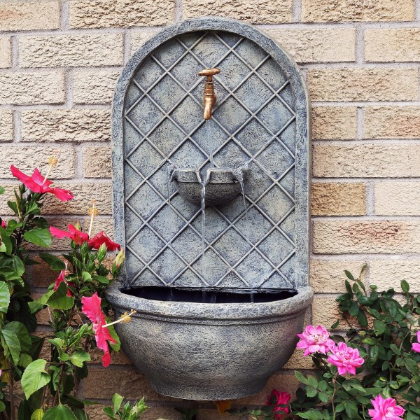Outdoor Wall Fountains Water