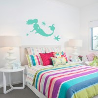 Mermaid and Starfish Wall Decals Home Dcor Wall Decals