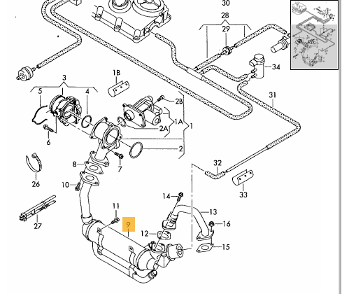 BRM EGR cooler bypass, delete kit by BuzzKen