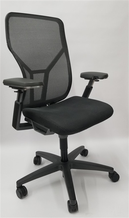 allsteel task chair steel construction lot 100 acuity chairs fully loaded adjustable arms bulk