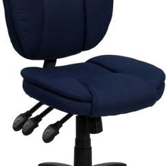 Aeron Chair Drafting Stool Glider Rocking Big Lots Flash Furniture Mid-back Navy Blue Fabric Multifunction Ergonomic Swivel Task ...