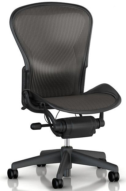 Herman Miller Aeron Chair Size B No Arms