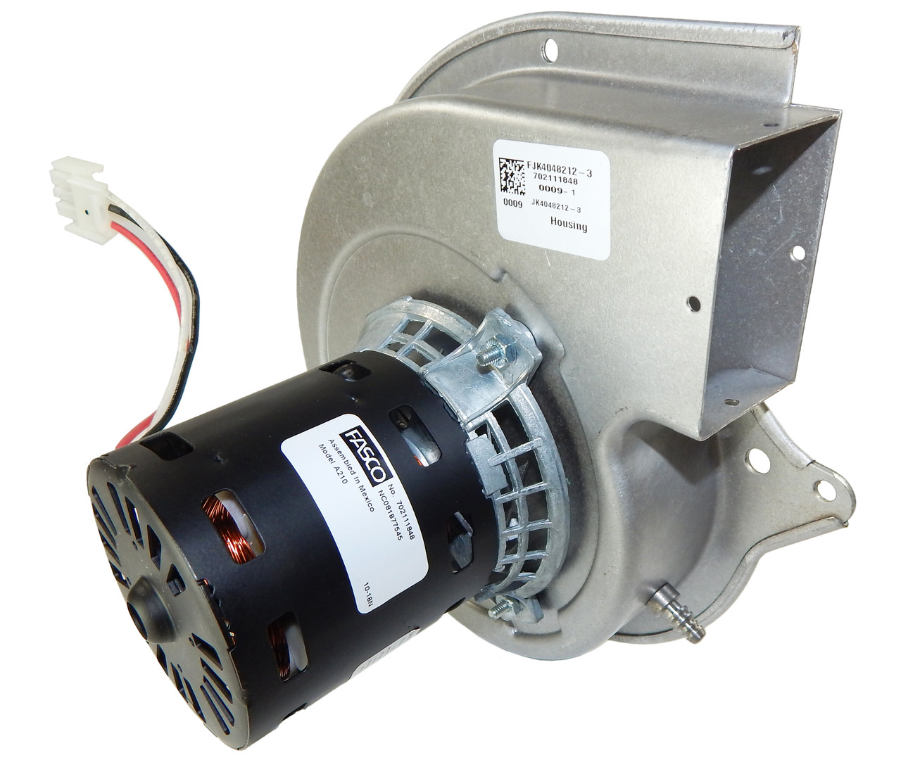 small resolution of lennox furnace draft inducer blower 115v 7021 11063 18m67011 fasco a210