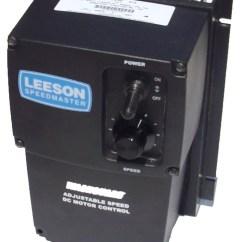 Ge Dc Motor Wiring Diagram 2000 Honda Civic Ex Leeson All Control 174102 Nema 4x 90 180vdc 1 8 Hp To 2 Electric