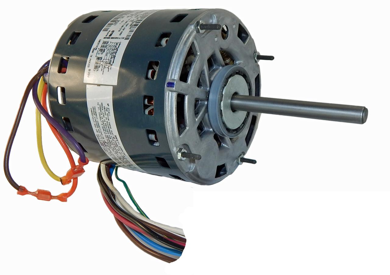 small resolution of 1 2 hp 1075 rpm 3 speed 115v furnace motor 5kcp39pgn655s genteq g3587 condenser fan motor genteq wiring diagrams