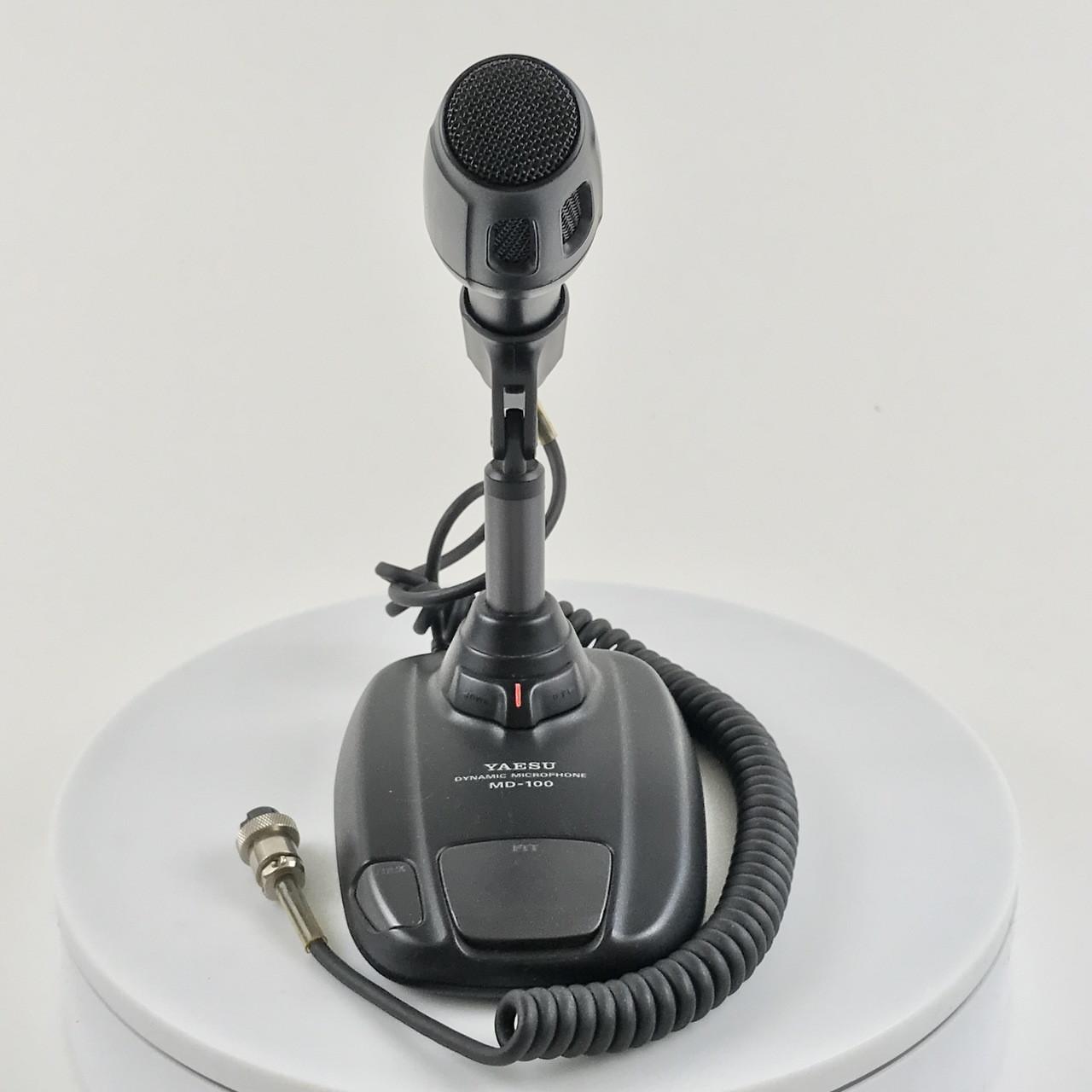 yaesu md-100a8x dynamic desktop microphone - xh radio labs