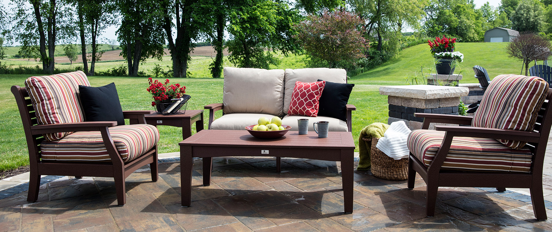 Patio Furniture Whitehall Pa. Wooden Green