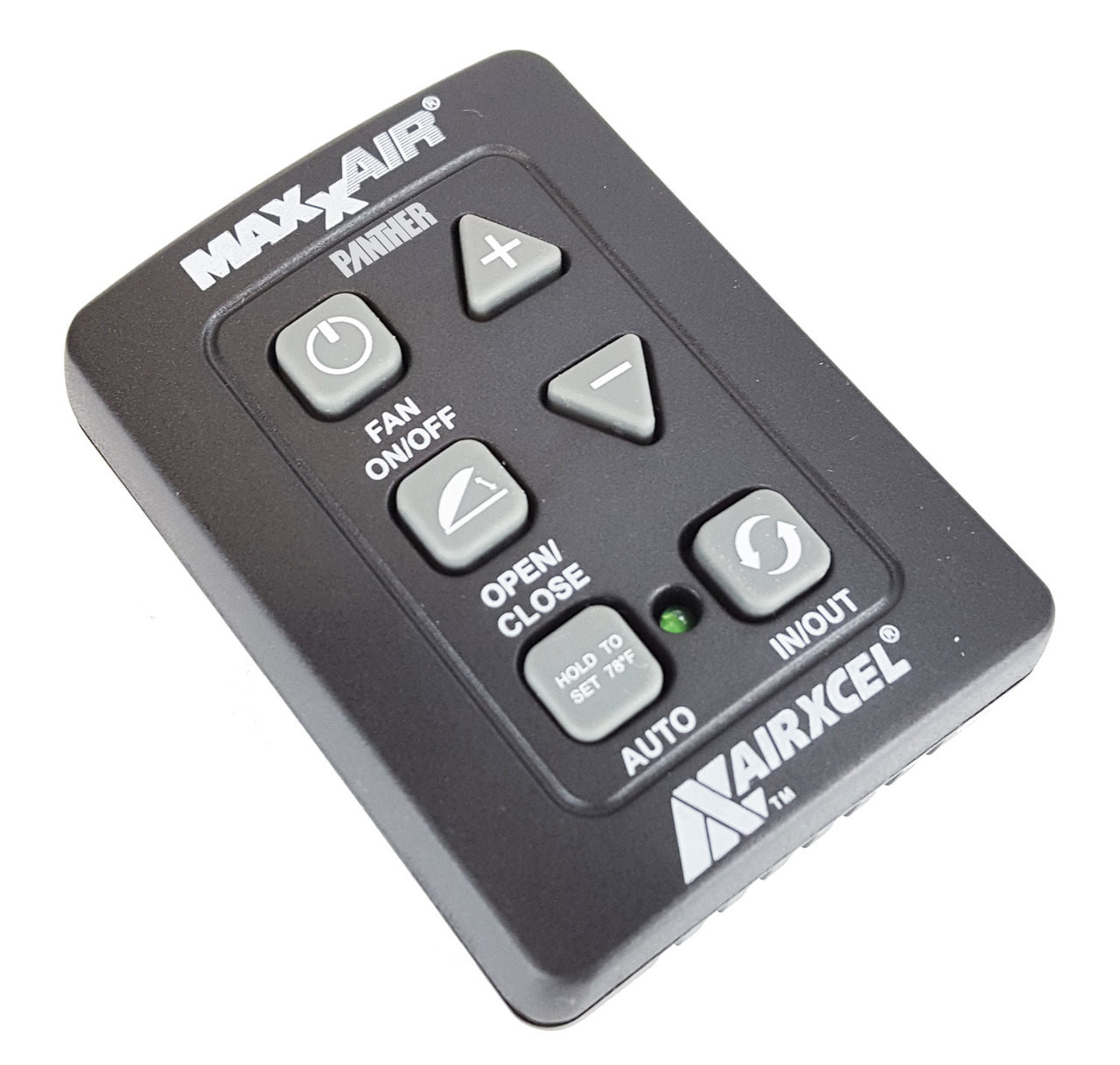 hight resolution of  maxxair 00a03650kit 6 button wall control for maxxfan plus and deluxe black
