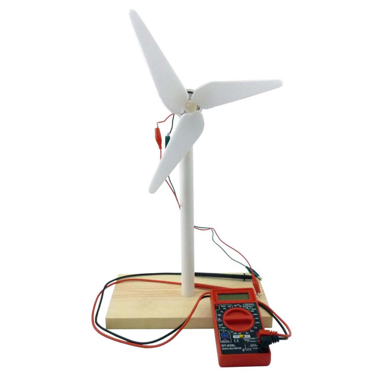 Wind Turbine Kit Students Home Science Tools