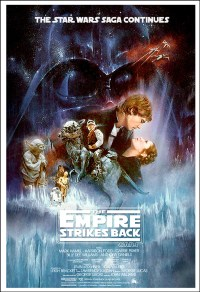 Star Wars The Empire Strikes Back Poster Movie Art Large ...