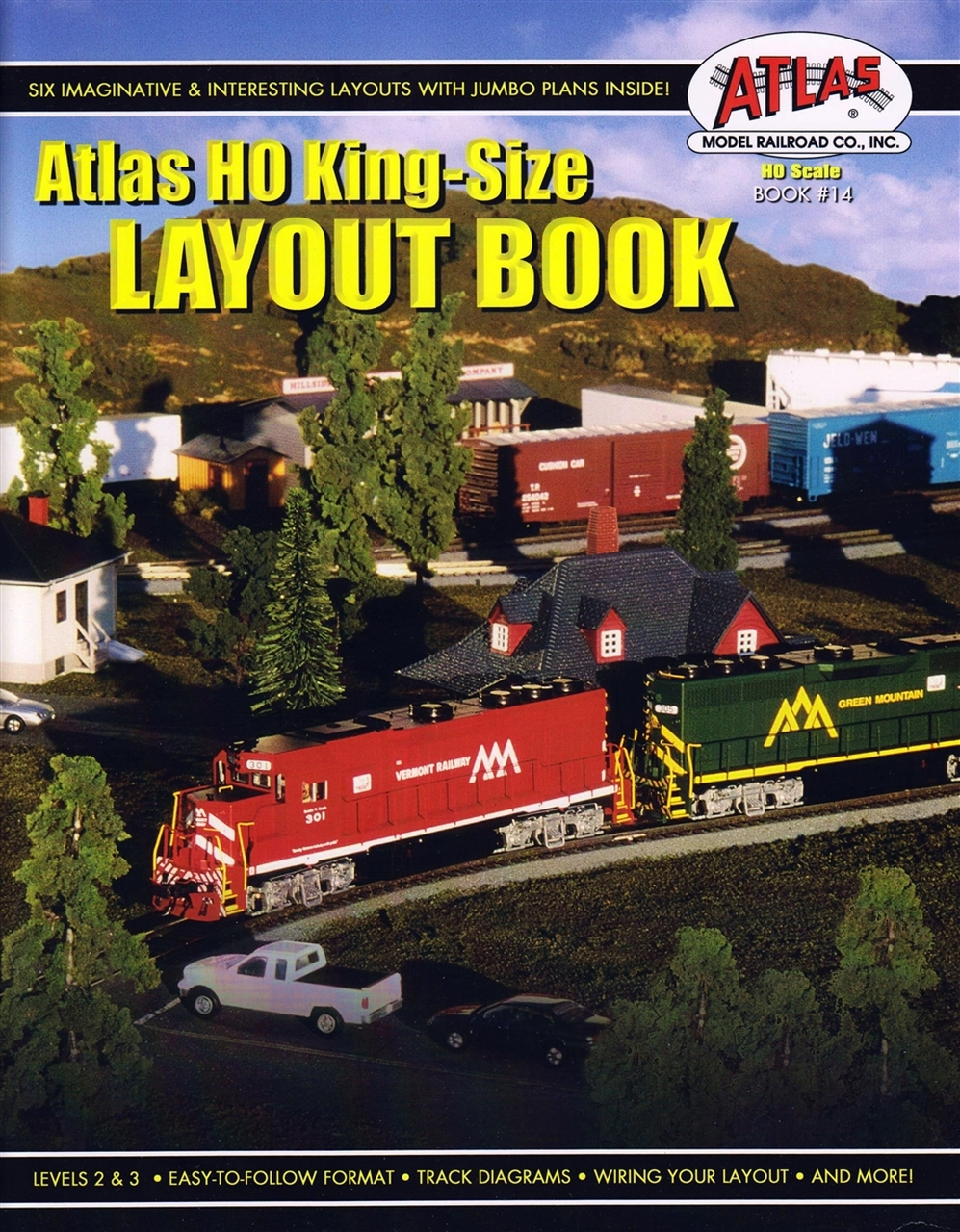 hight resolution of atlas ho king size layout book book 14 modeltrainstuff com rh modeltrainstuff com lionel track wiring