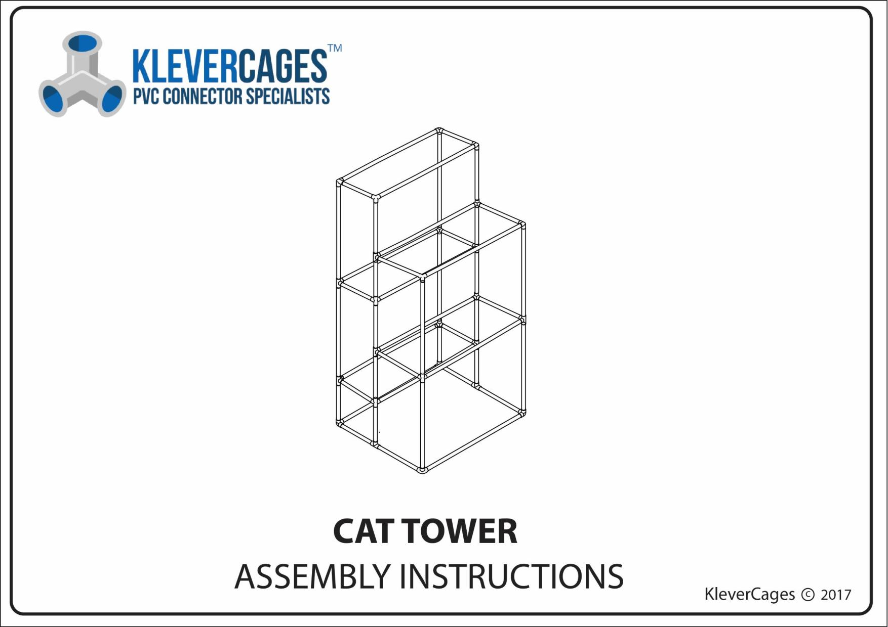 Free Pvc Plans Pvc Connectors To Make Anything Klever Cages