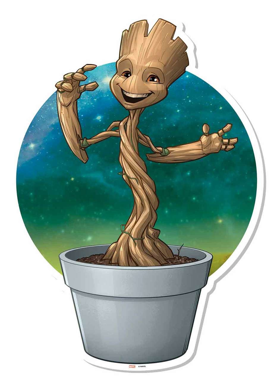 Groot Plant Baby Flower Pots
