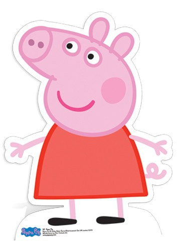 Black Animal Print Wallpaper Lifesize Cardboard Cutout Of Peppa Pig From Peppa Pig Buy