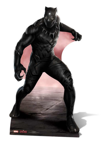 Black Panther Marvel Lifesize Cardboard Cutout Standee