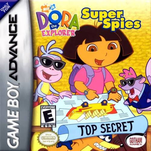 Dora Super Spies Nintendo Gameboy Advance Gba Game For