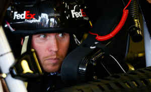 Denny Hamlin in car - Photo Credit: Jared Wickerham/Getty Images for NASCAR