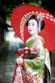 woman dressed in traditional