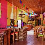 Colorful Interior Of Restaurant Stock Photo Dissolve