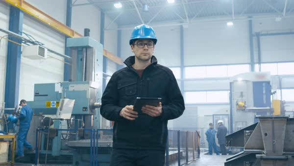 factory worker in a
