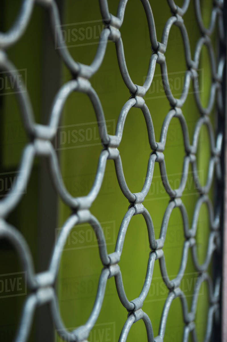 chain link fence and