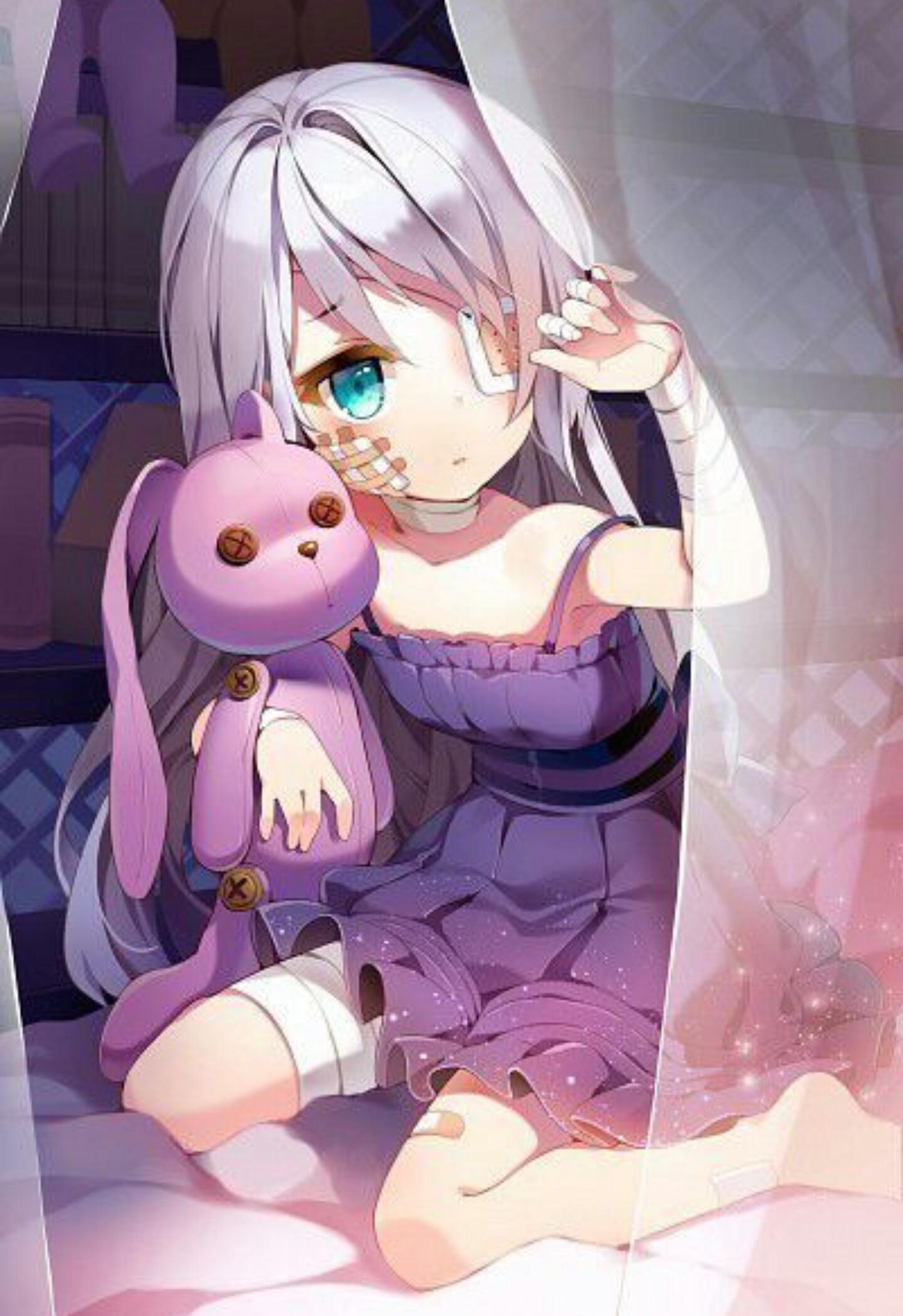 Anime Eyepatch Girl : anime, eyepatch, Kawaii, Bunny, Eyepatch, Image, ~Anime~