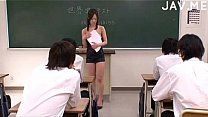 Bokep Teacher forced to fuck before class