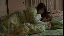 Bokep Lesbians japanese kissing