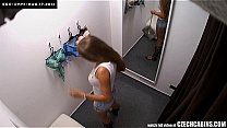 Bokep Amazing Big Tits Girl Spied on in Changing Room