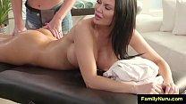 Lesbian family massage
