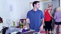Naughty Stepmom Maxim Law Enjoys Fucked-Up Family Threesome