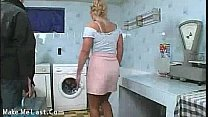 Bokep Repairman fixes her instead of machine