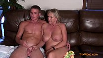 Taboo Family Sex Interview with Mommy & Son