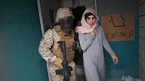 Bokep Gangbang patriot soldiers and  muslim prostitute