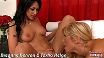 Bokep Threesome with hotties Breanne Benson and Tasha Reign