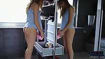 Bokep Amazing butt teen tries on well fitting panties