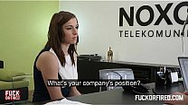 Bokep Fucked hard in an office