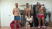 Bokep Gangbang without rubber. Divorced, scorned and lusting for cock. Noa wants it all