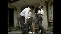 Classic Japanese schoolgirl forced by two guys