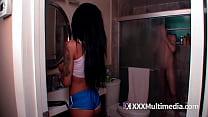 Bokep Latina get seduced by her stepbro