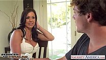 Bokep Elegant cougar Kendra Lust gets fucked and facialized