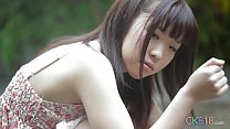 Bokep Shy Japanese girl shows us her flawless teen body