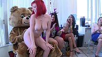 Bokep DANCINGBEAR - Big Dick Male Strippers Letting It All Hang Out At CFNM Party